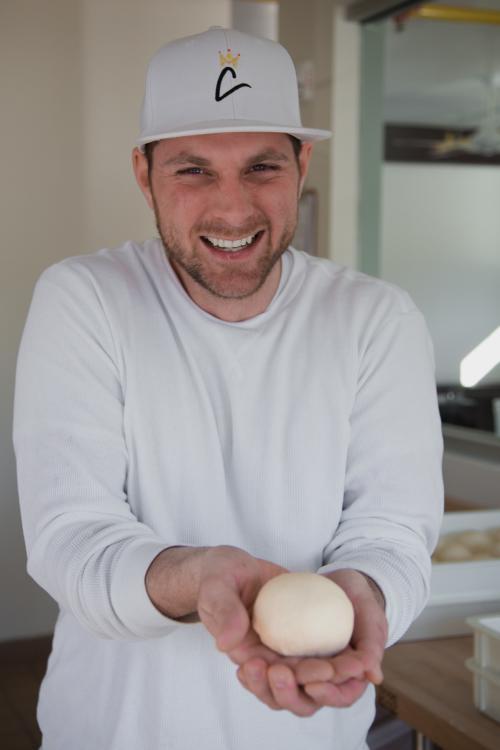 Chef Teddy Diggs of Coronato in Carrboro