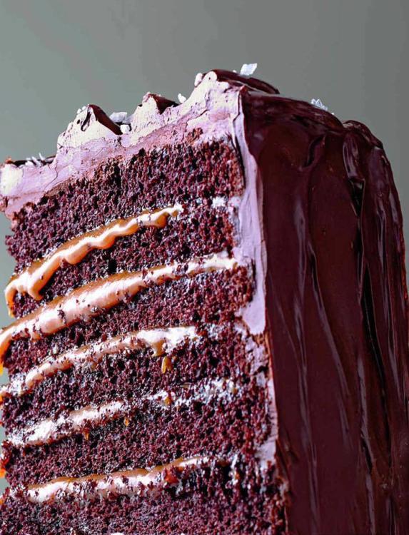 Shyndigz Chocolate Caramel Cake