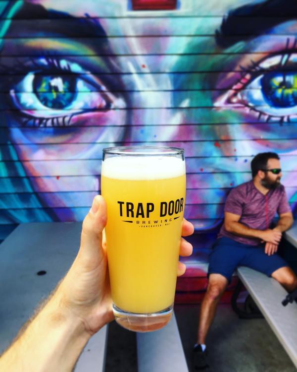 Trap Door Mural