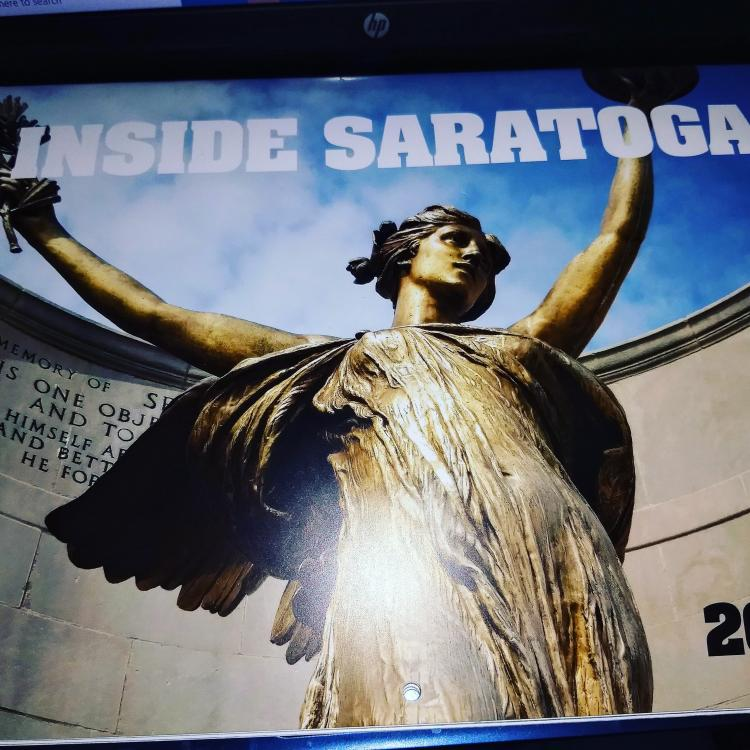 Inside Saratoga Calendar
