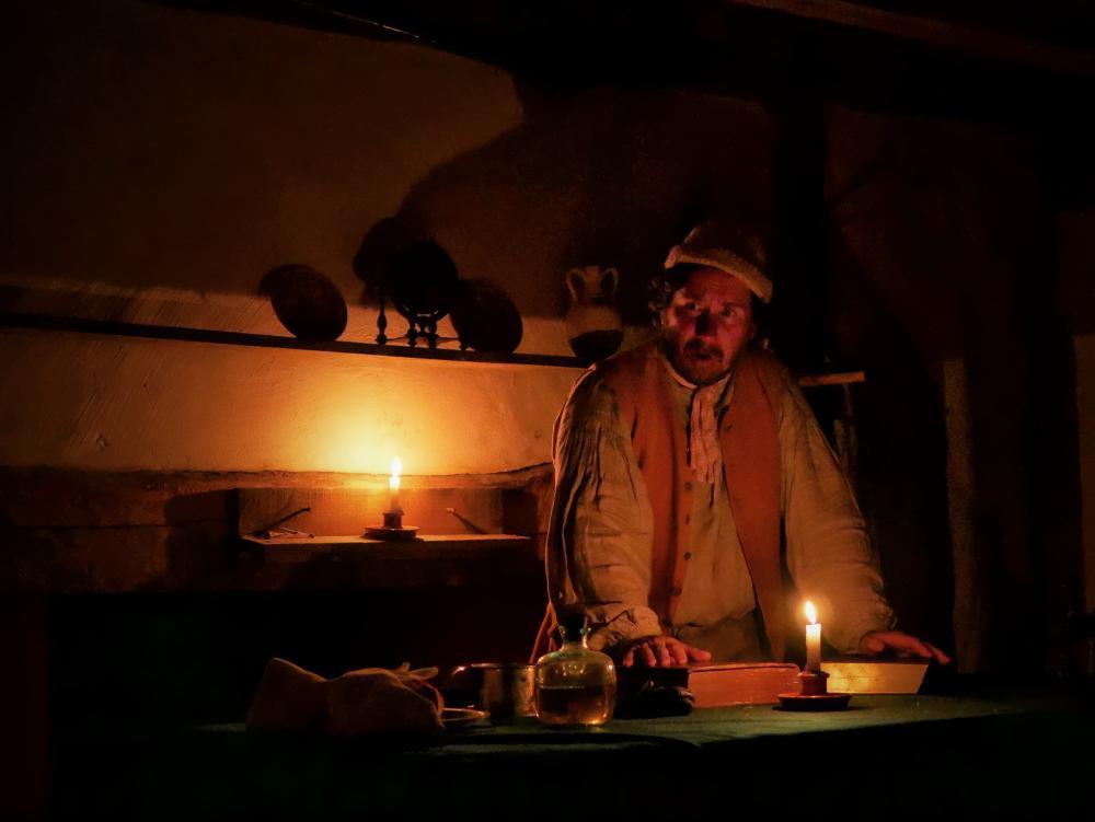Henricus candlelight tour