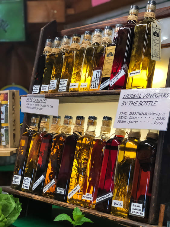 Farmers Markets - Fairbanks Alaska - Bsically Basil Olive Oils