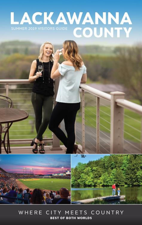 2019 Summer Visitors Guide for Lackawanna County