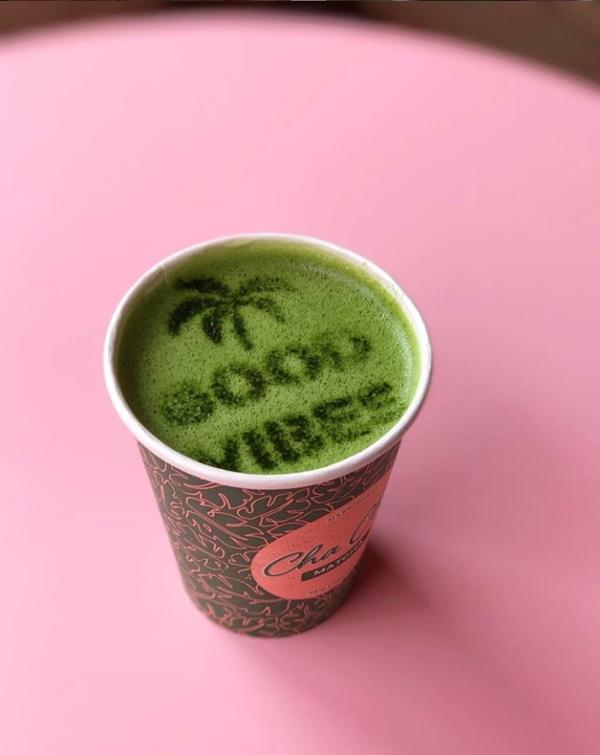 Cha Cha Matcha at Coachella