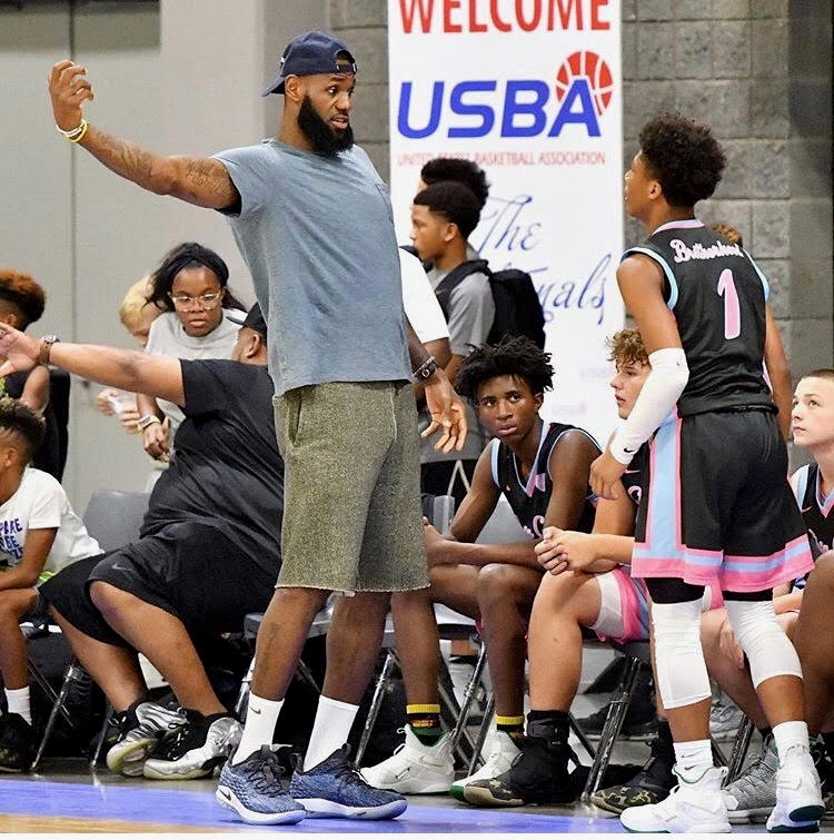 Lebron James at 2018 USBA Nationals