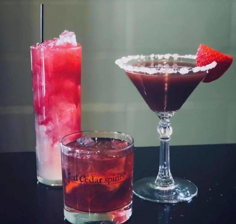 Red Cedar Spirits cocktails