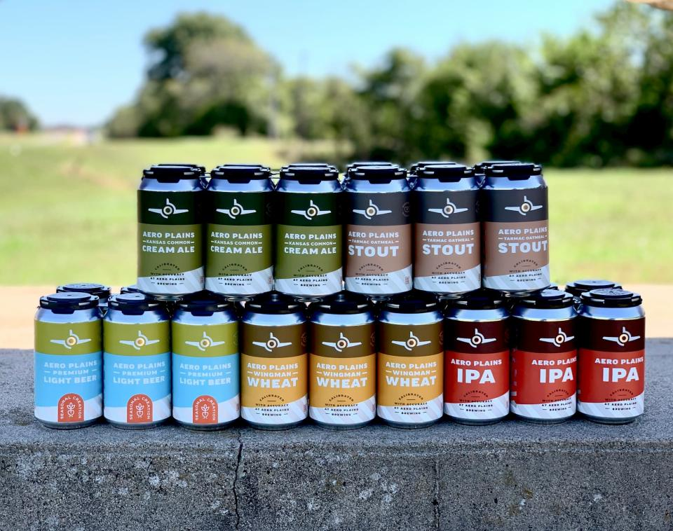 Aero Plains Brewing Canned Selection