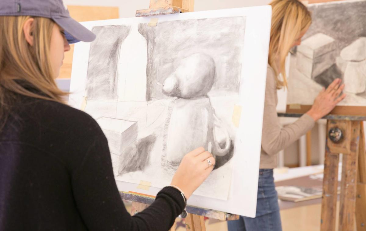 Wayne Art Center Drawing Class