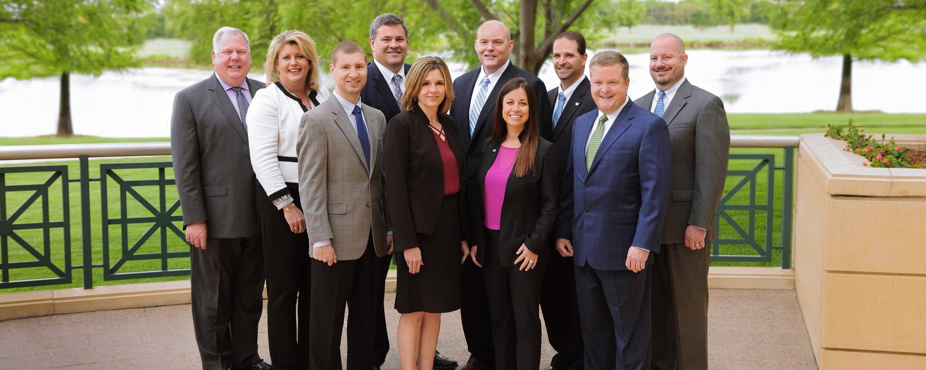 BKD Partners Outside Visit Wichita