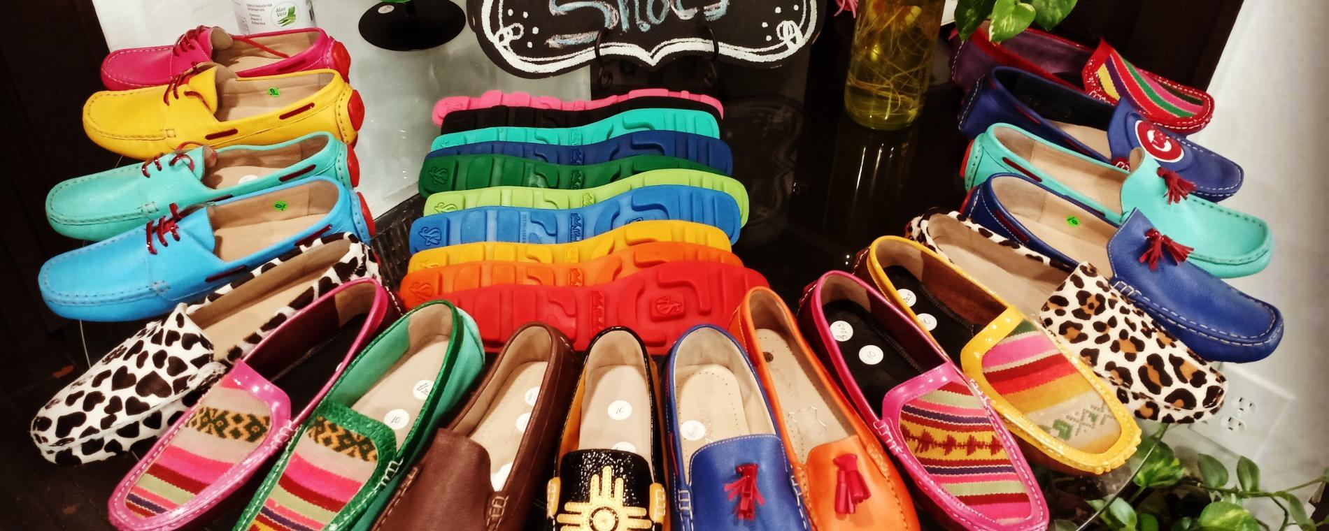 Aida Stenholm Shoe array