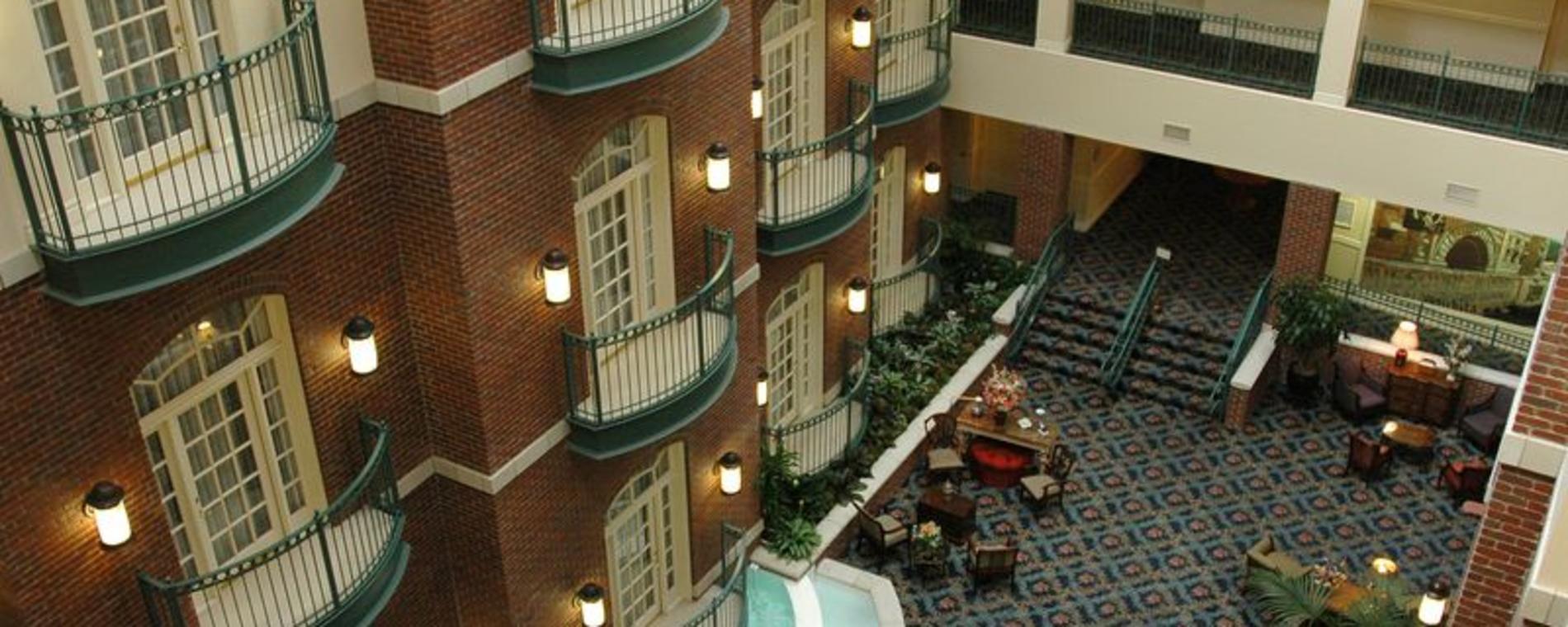 Atrium at Hotel at Old Town