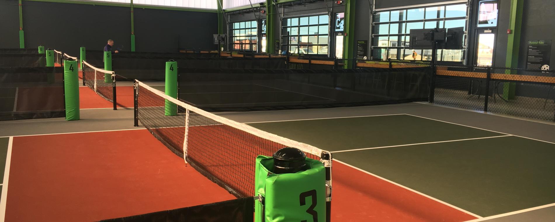 Chx/Pickle Badminton Visit Wichita