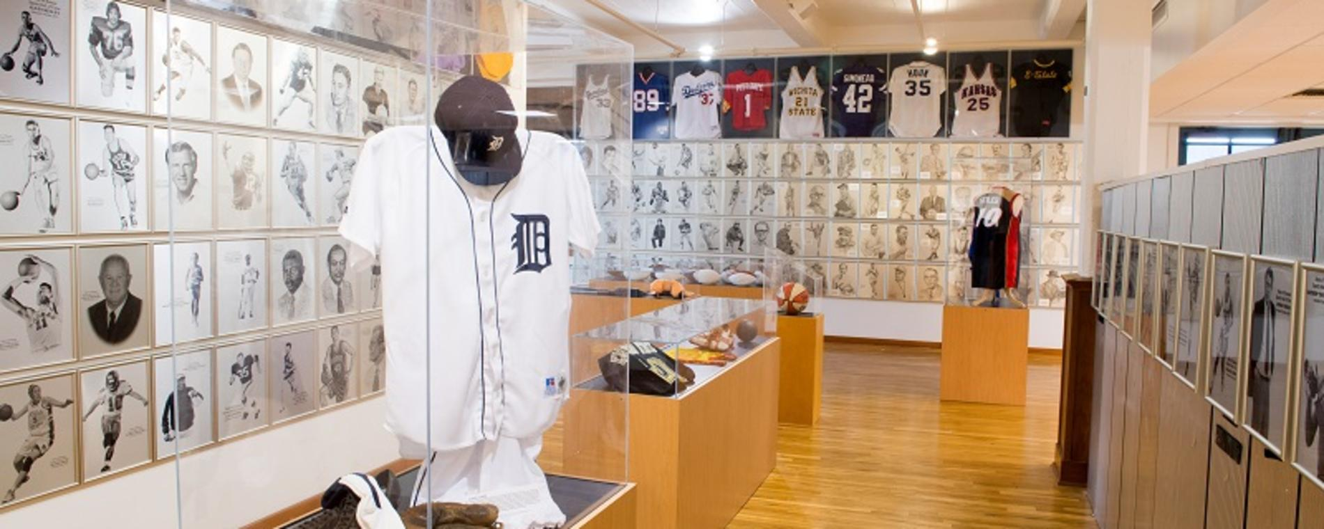 KS HoF basketball uniform Visit Wichita