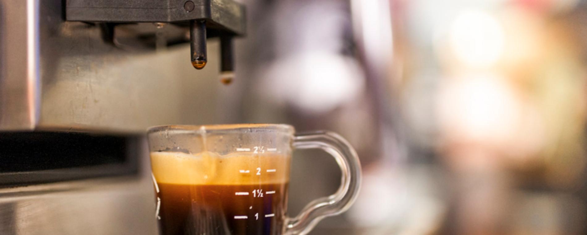 Churn Burn dispensing coffee Visit Wichita