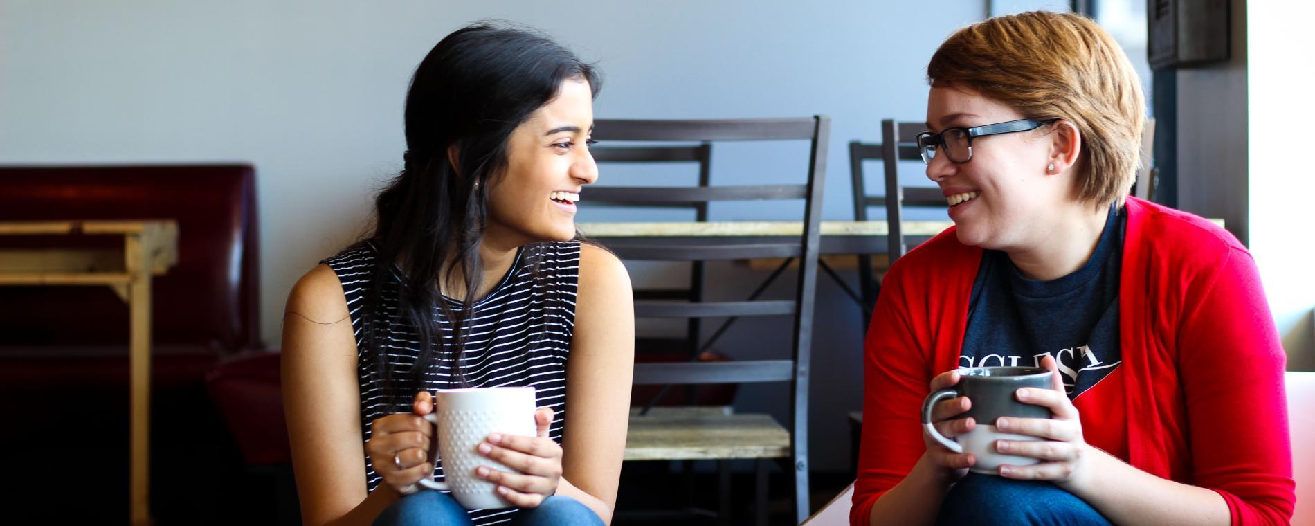 Ecclesia Coffee with friend Visit Wichita
