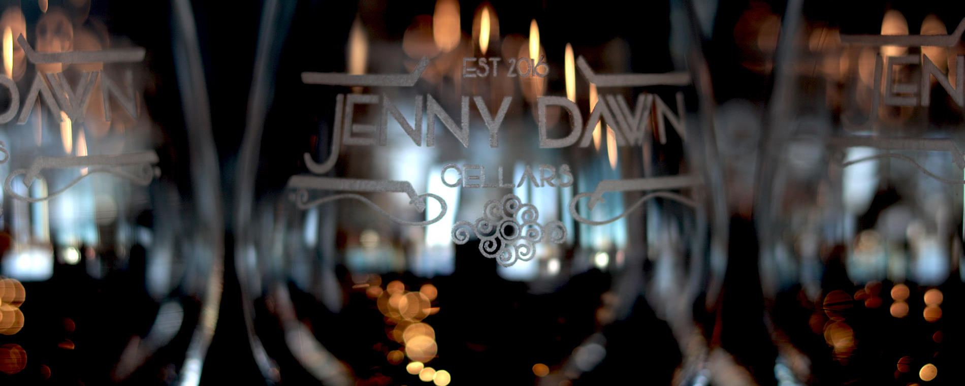Jenny Dawn etched goblets Visit Wichigta