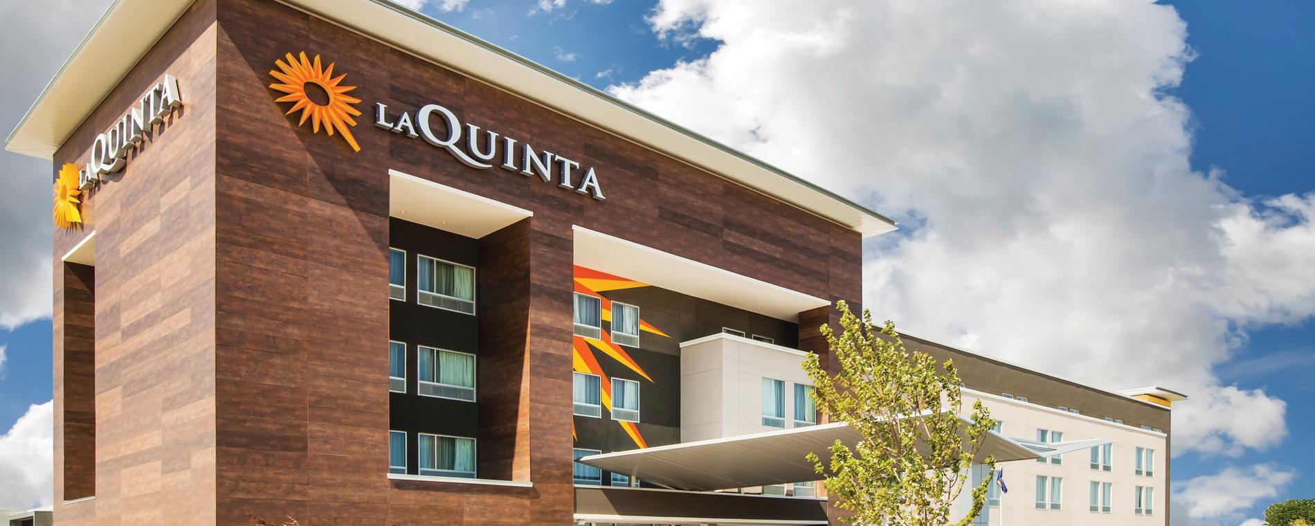 La Quinta NE Exterior close up Visit Wichita