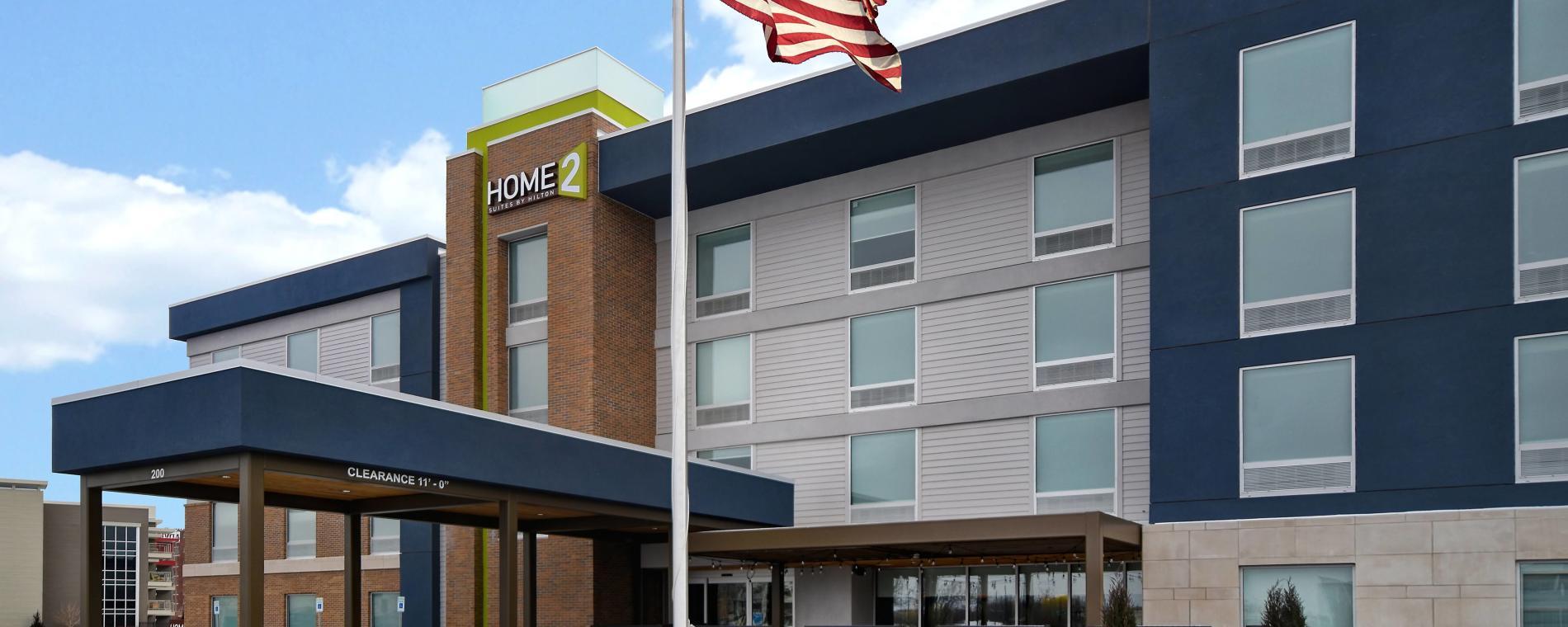 Exterior Home2 Suites by Hilton Downtown Delano