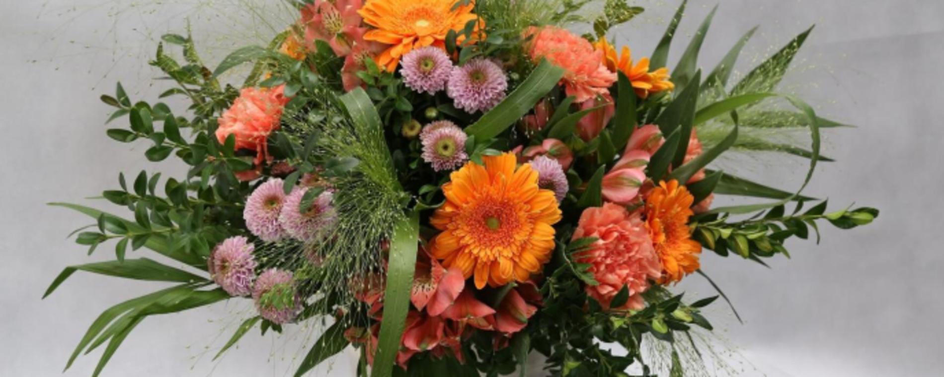 Fall Fresh Flower Arrangement