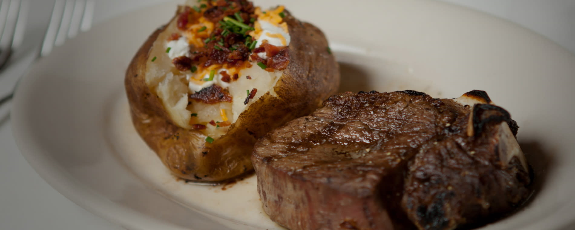 Greystone Restaurant steak potato
