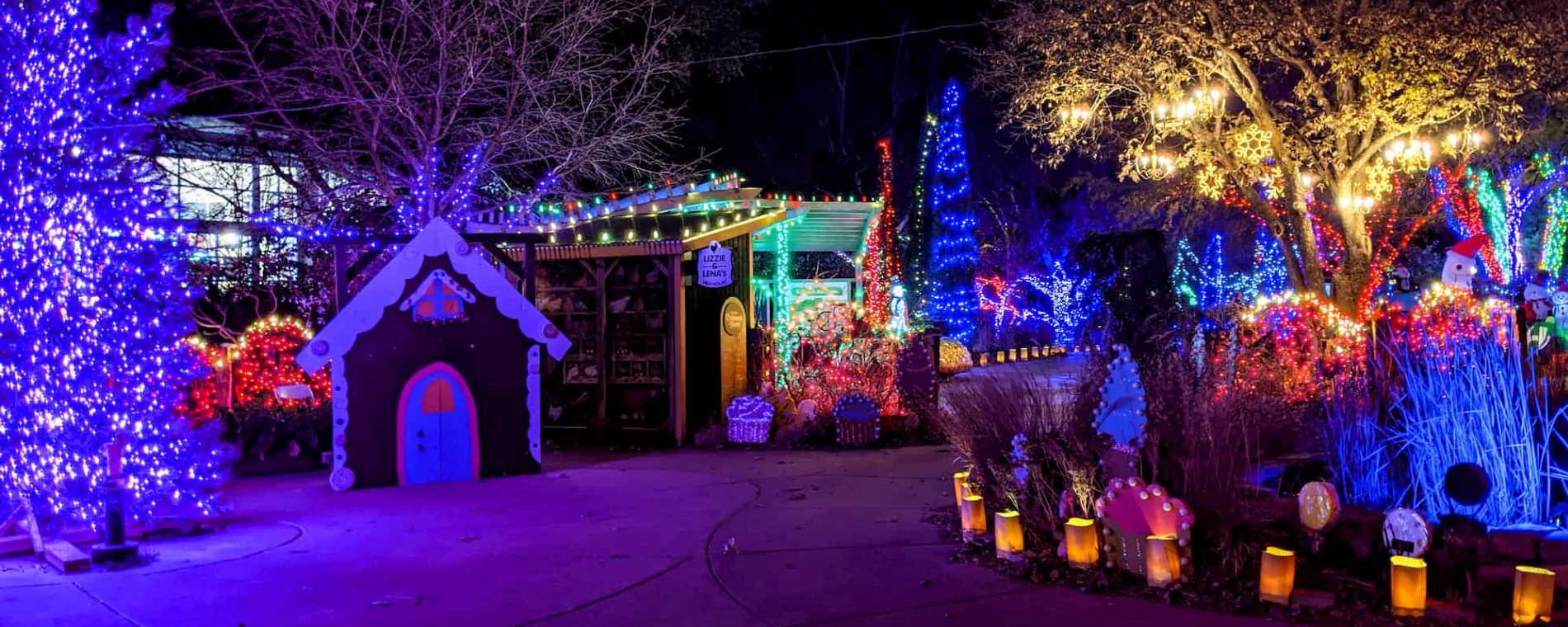 Christmas Light Wichita Ks 2021 Map Illuminations 2020 At Botanica Wichita Holiday Light Display