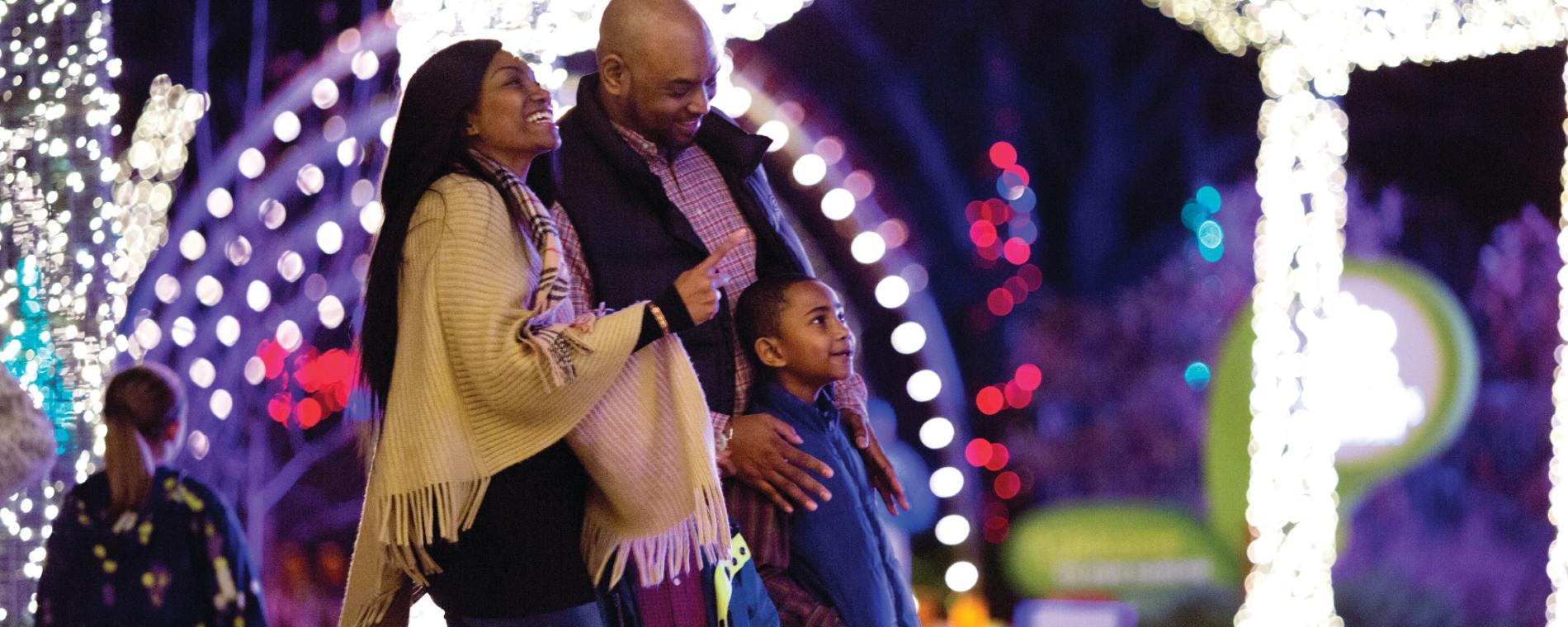 Wichita Christmas Light Displays 2020 Illuminations 2020 at Botanica Wichita | Holiday Light Display