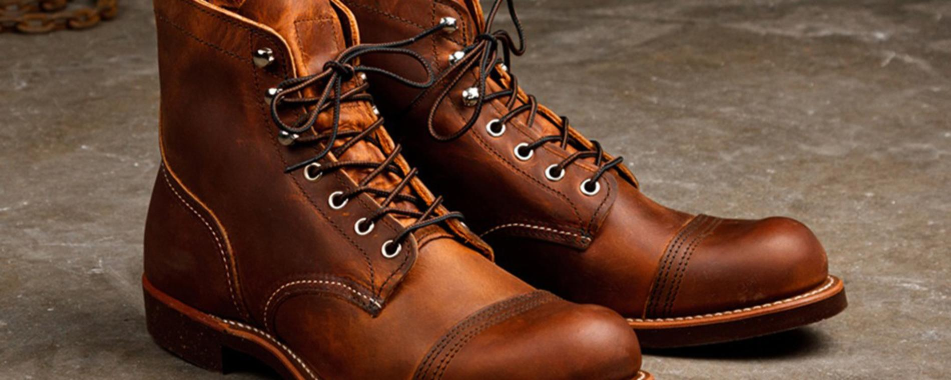 Red Wing leather boots Visit Wichita