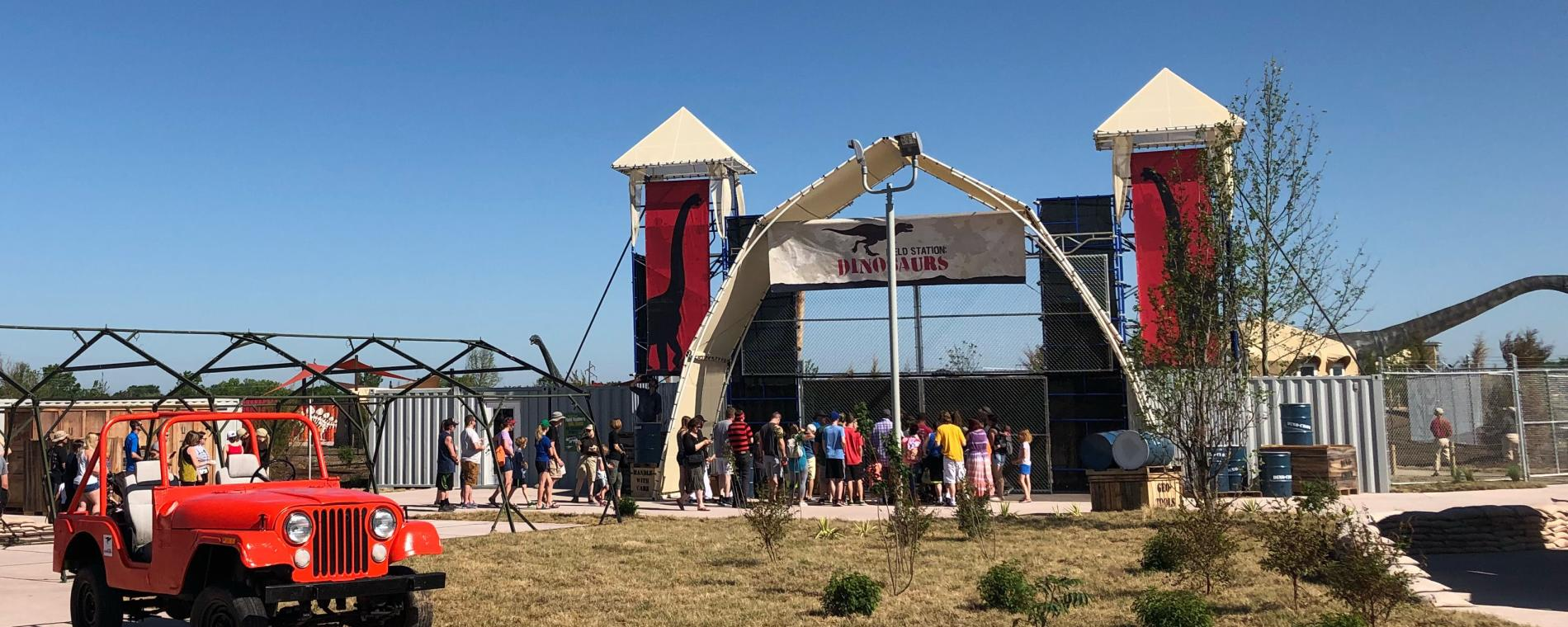 Field Station entrance Visit Wichita