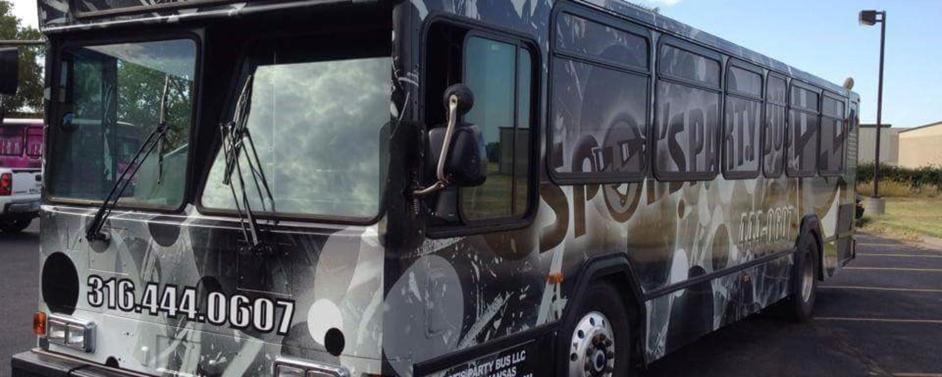 Spot's Party Bus Vehicle Visit Wichita