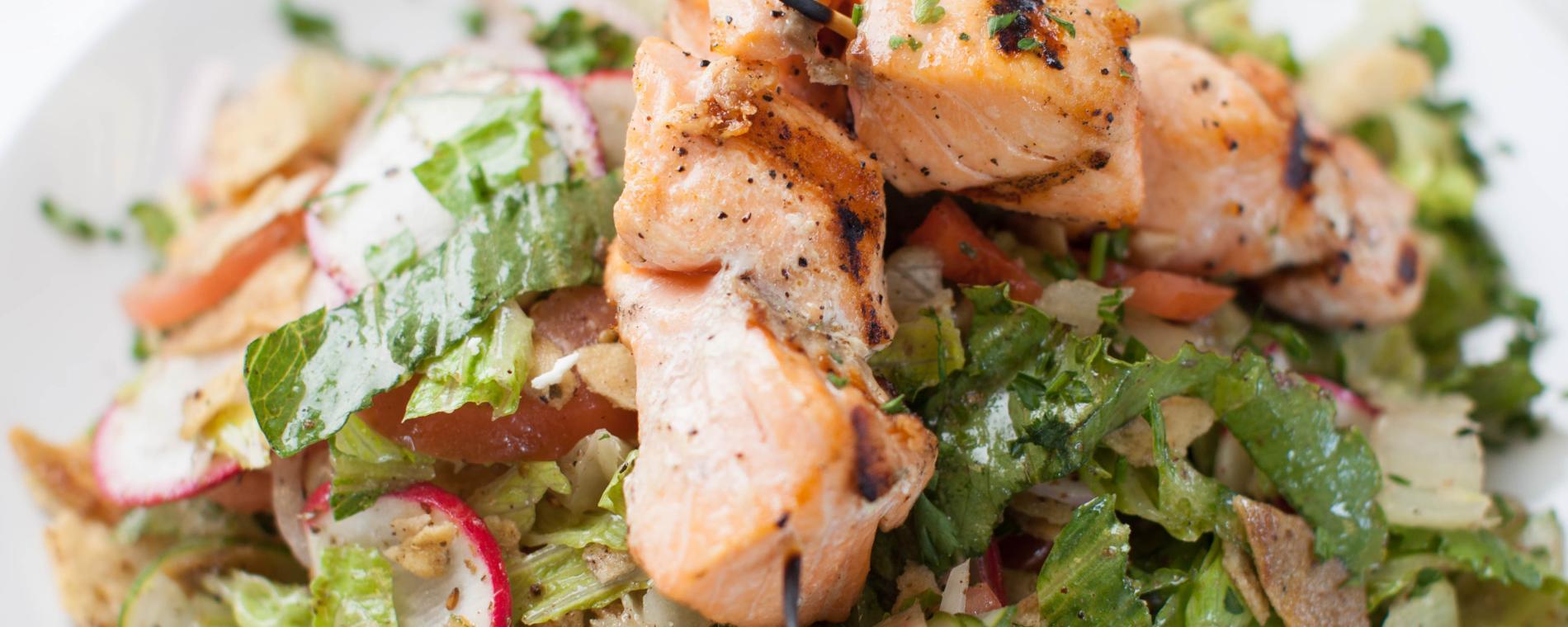 Meddys NE salmon salad Visit Wichita