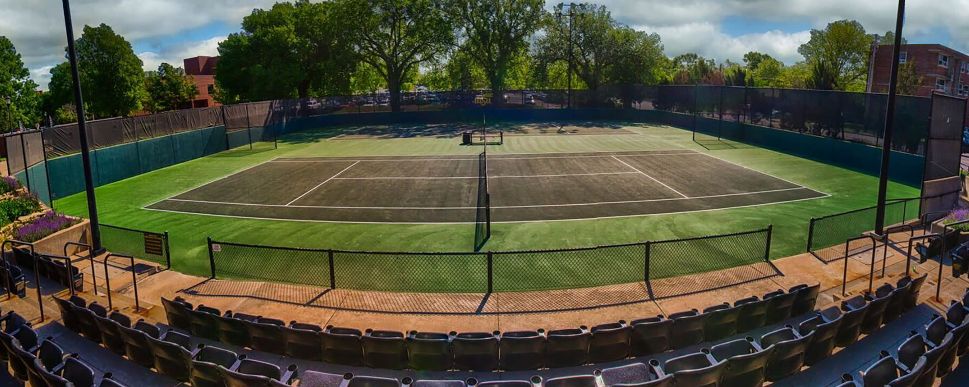 Sheldon Coleman Tennis Court Header