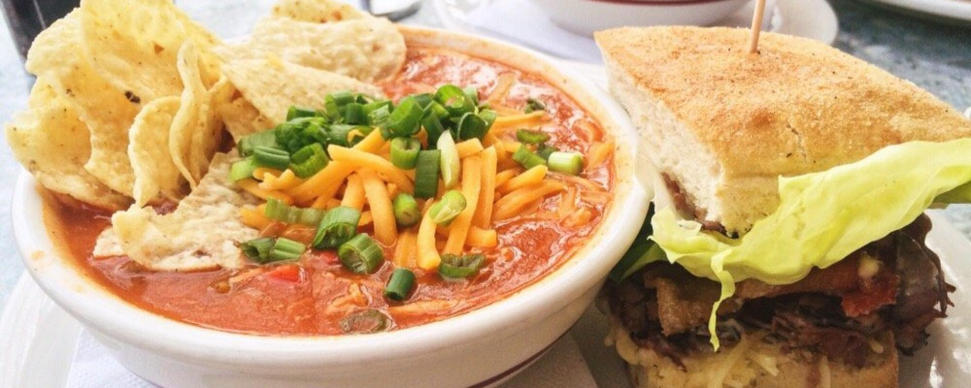 Tanya's Soup Kitchen soup/sandwich Visit Wichita