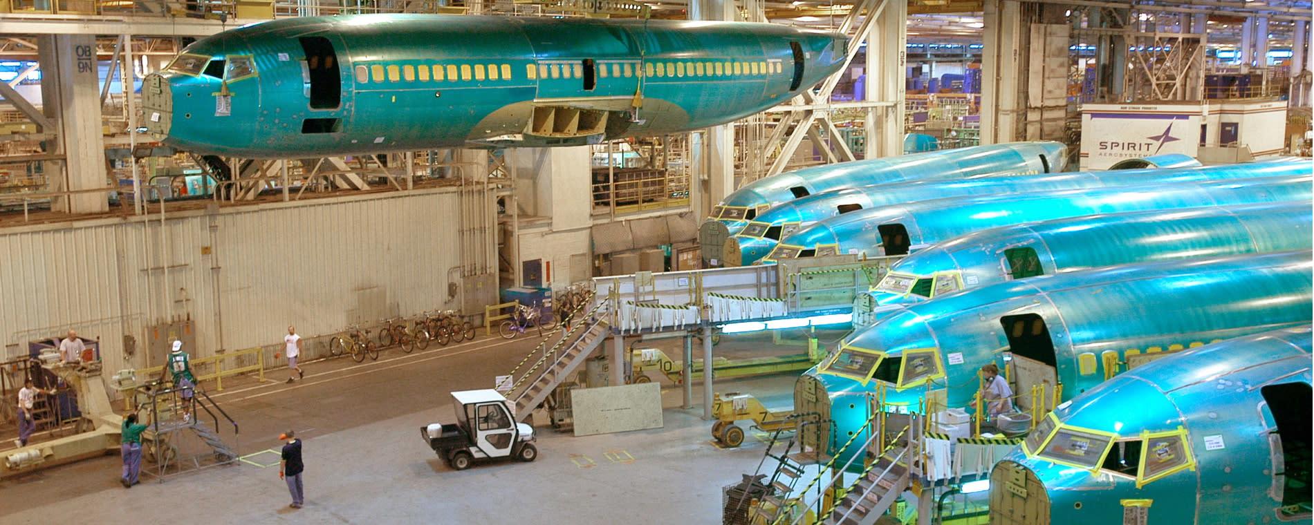 Spirit AeroSystems_B737 Production Line 2_2010