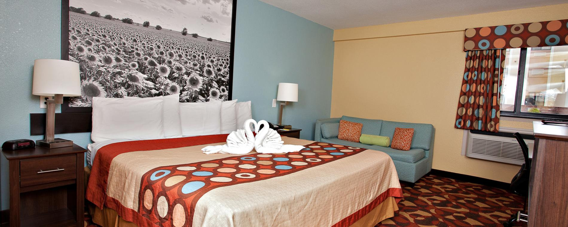 Super 8 Hotel Room