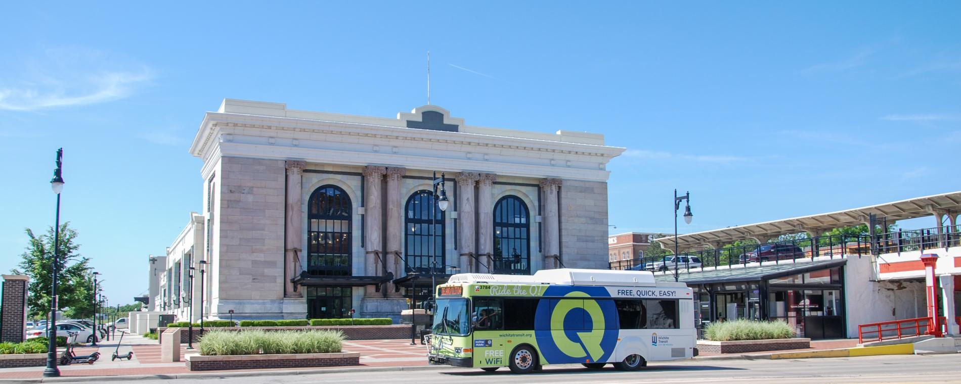 Q-line at Union Station