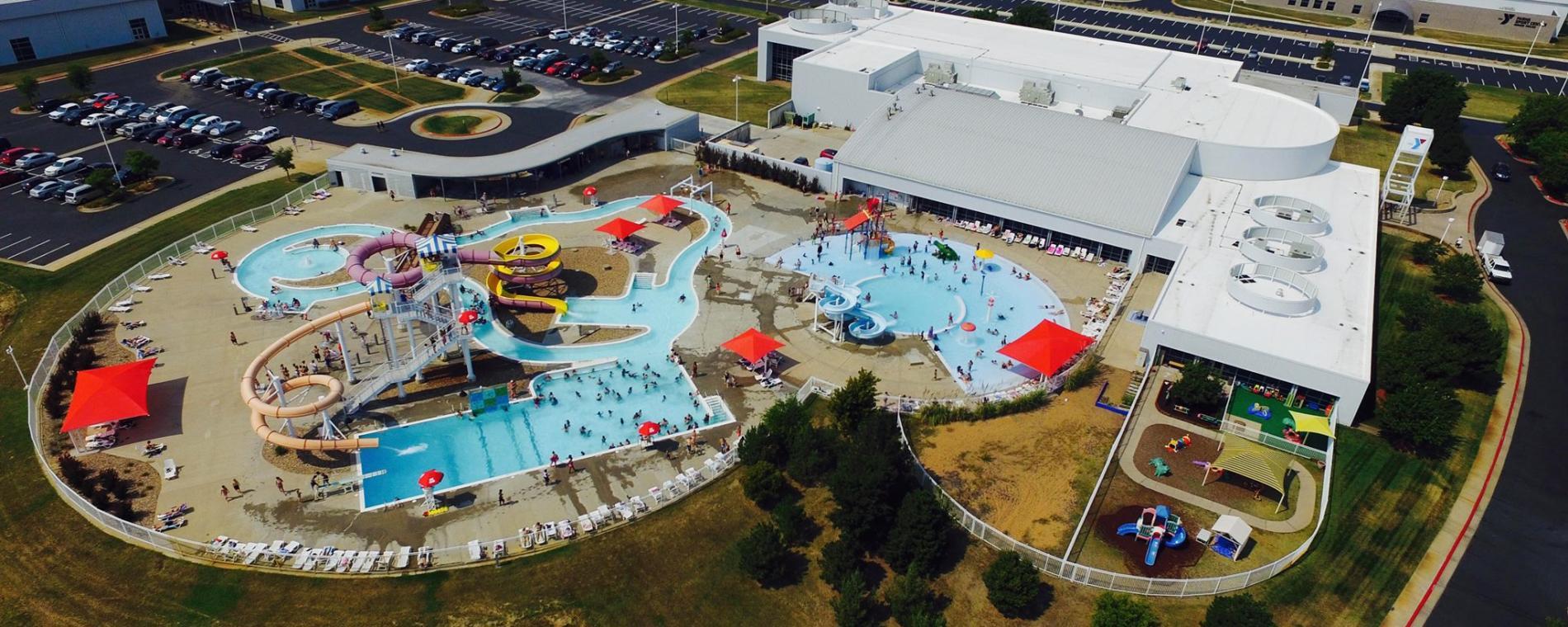 Watepark Aerial South YMCA