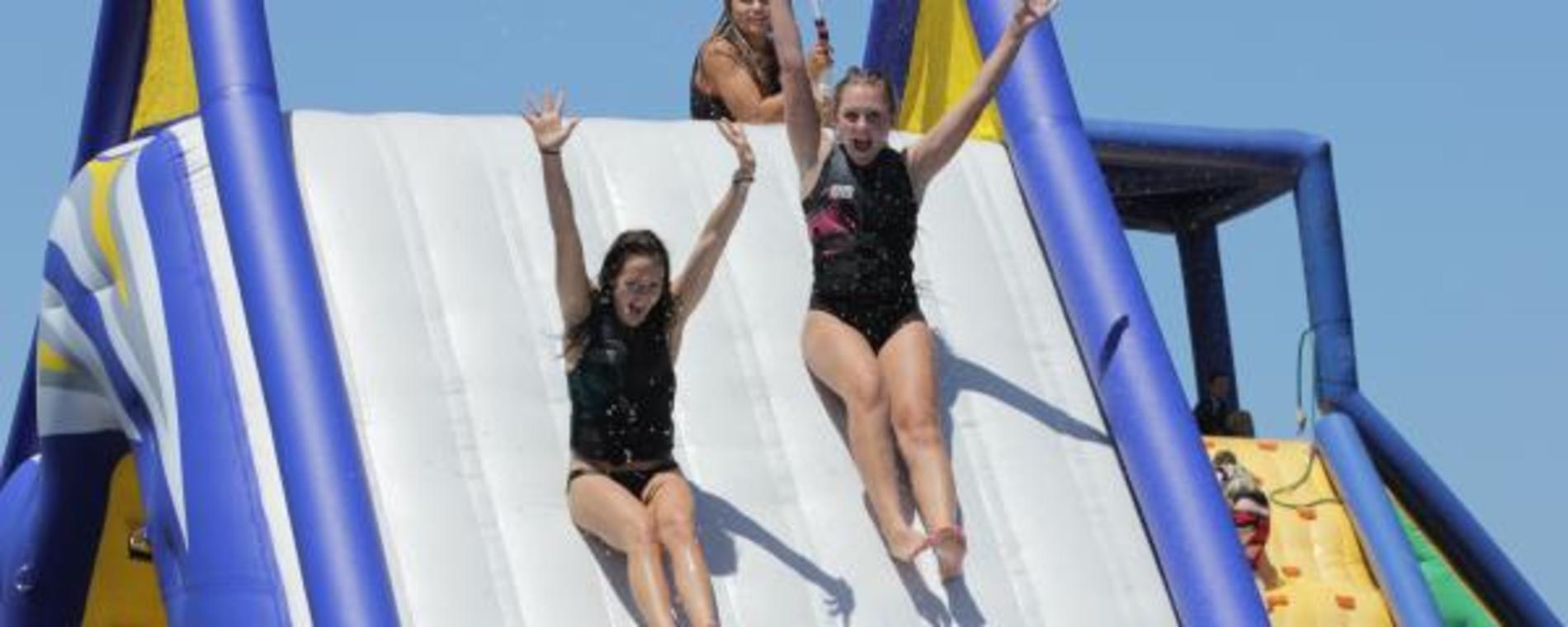 Splash water slide Visit Wichita
