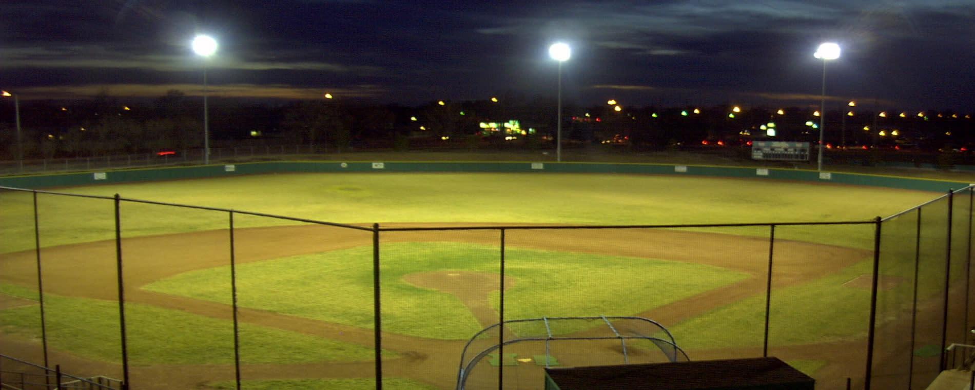 Westurban Field at Night