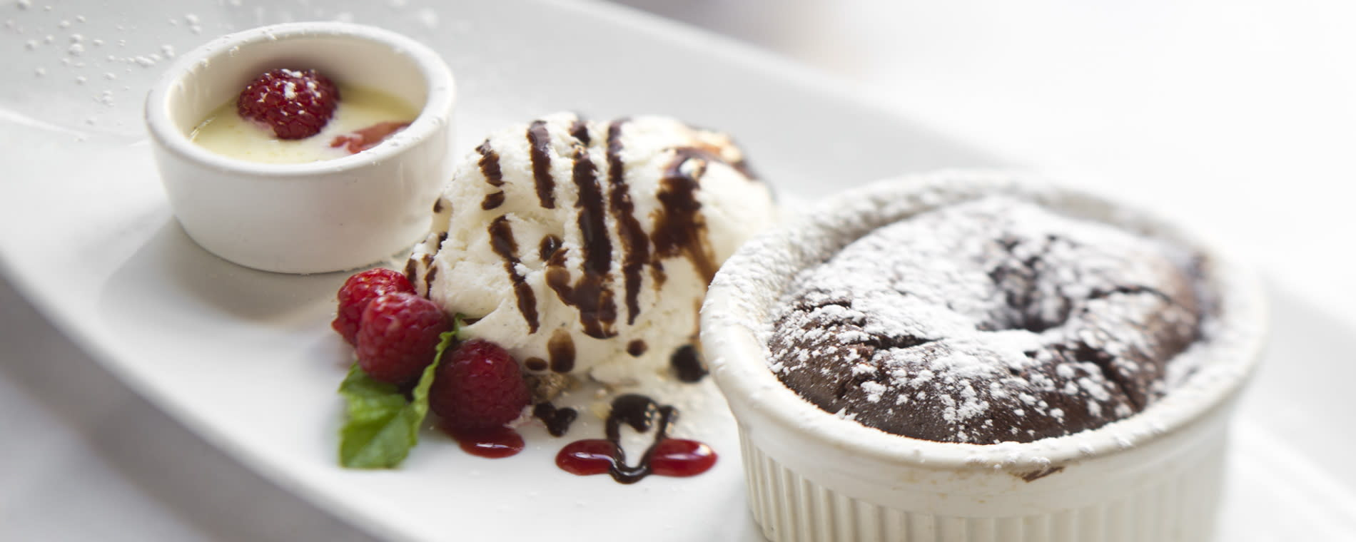Ya Ya's Chocolate Souffle
