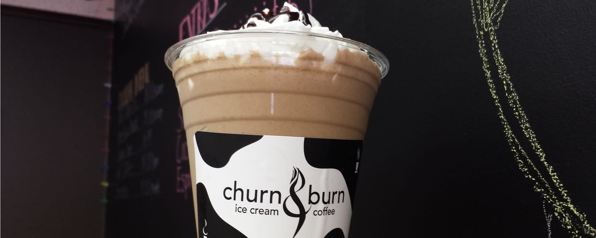 Churn & Burn Coffee Drink