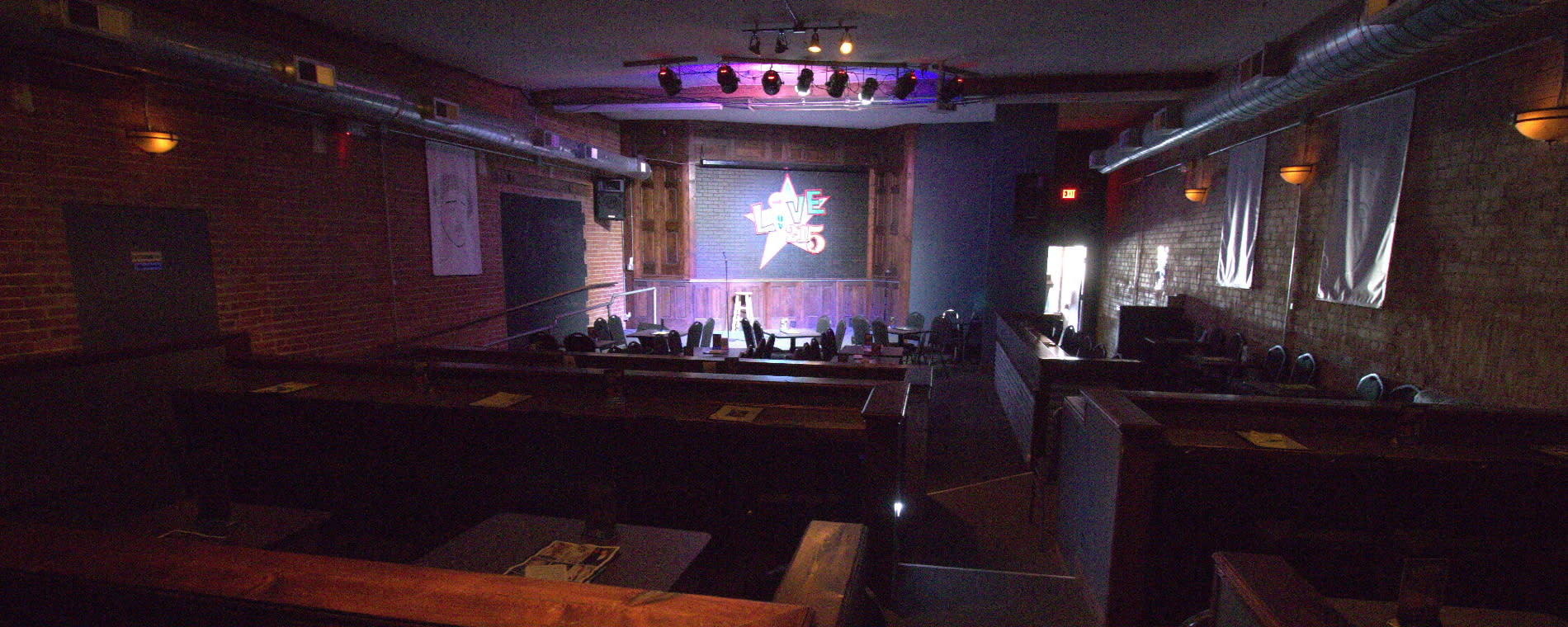 The Loony Bin Stage and Seating