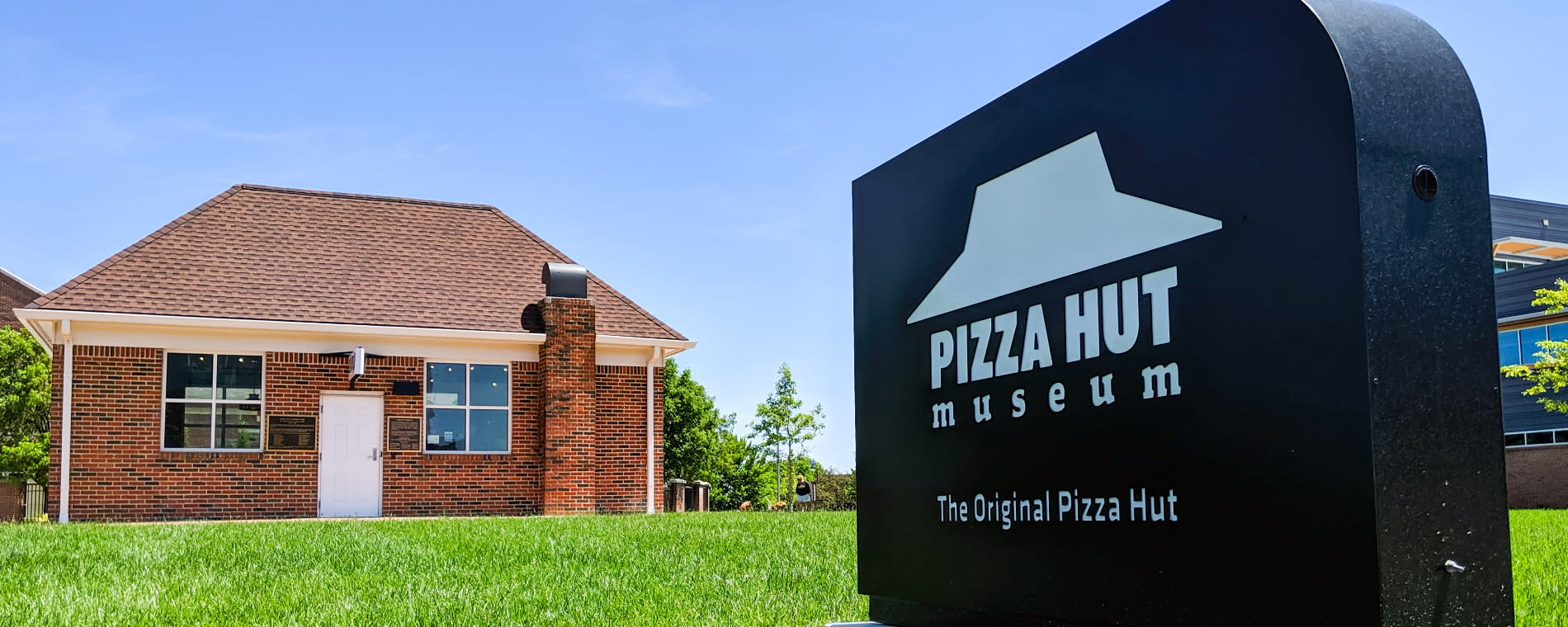 The Original Pizza Hut Museum Entrance