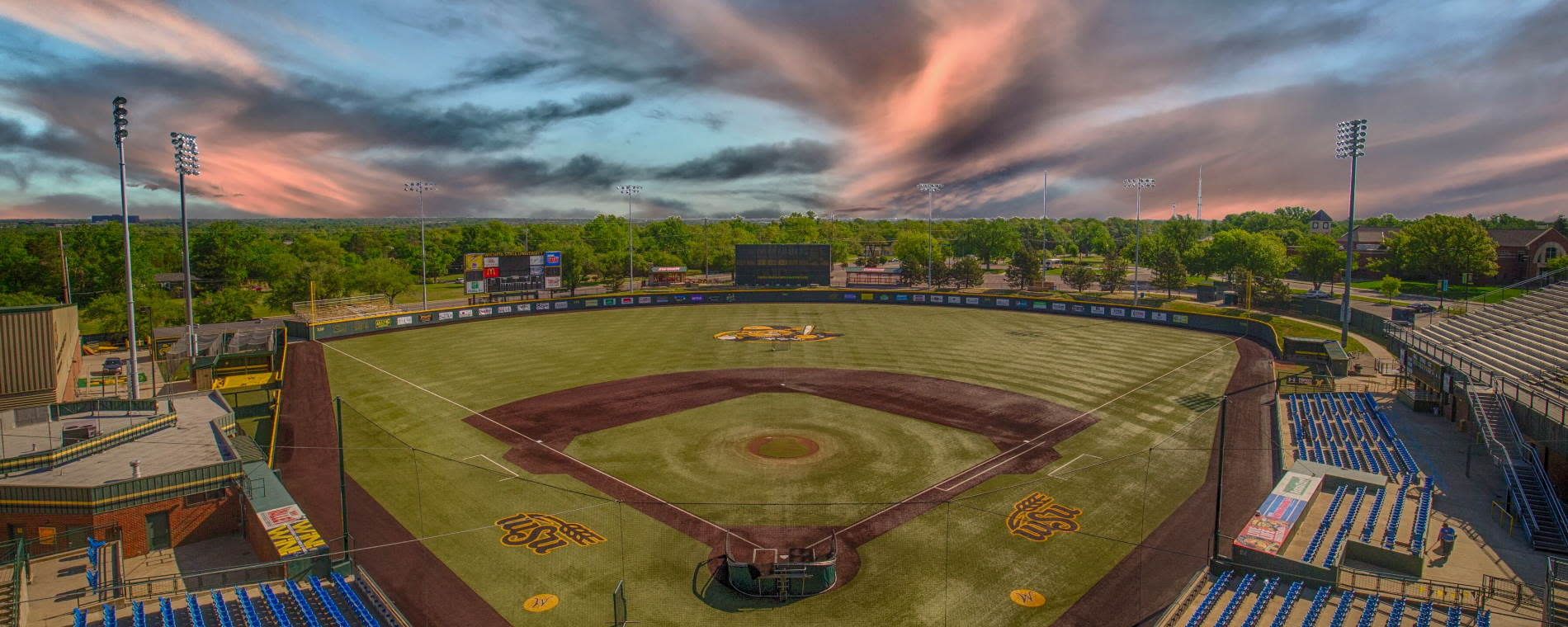 Tyler Field at WSU's Eck Stadium