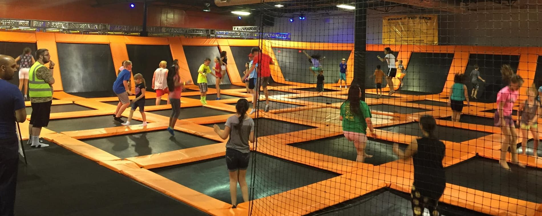 Urban Air Trampoline Park in Wichita