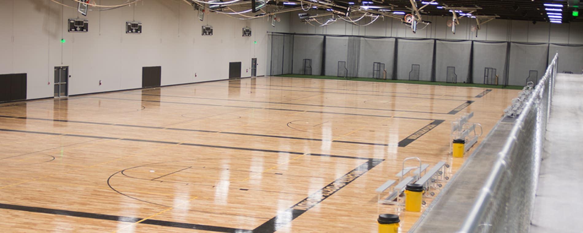 Wichita Sports Forum Basketball Courts
