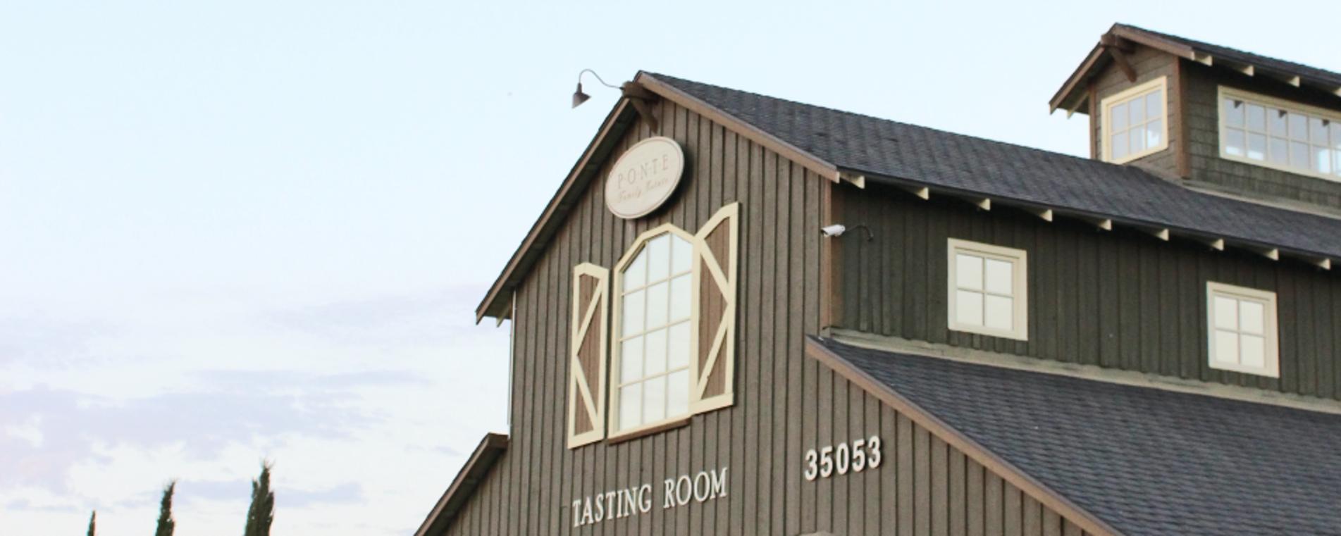 Tasting Room - Ponte Family Estate Winery