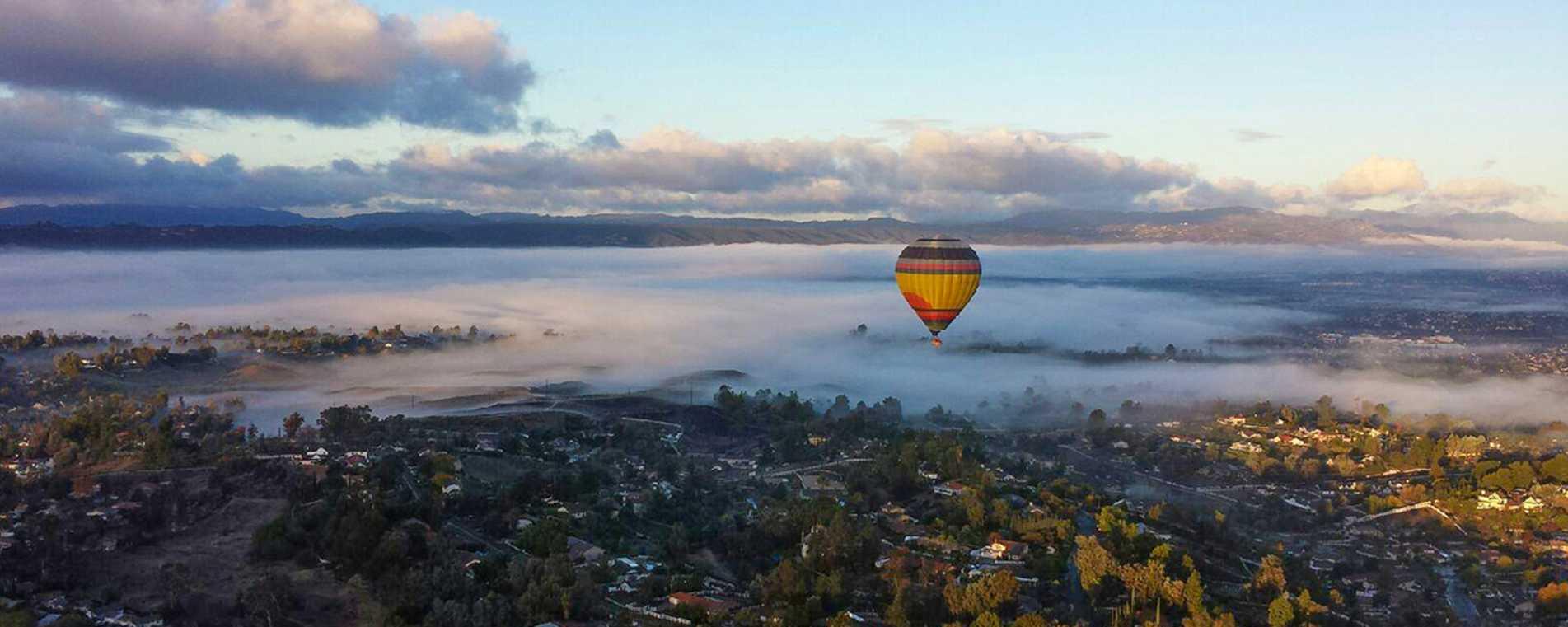 Panorama- A Balloon Adventure By California Dreamin