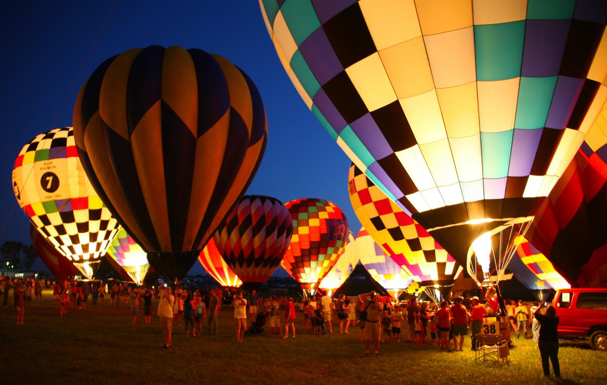 Catch Des Moines - National Balloon Classic