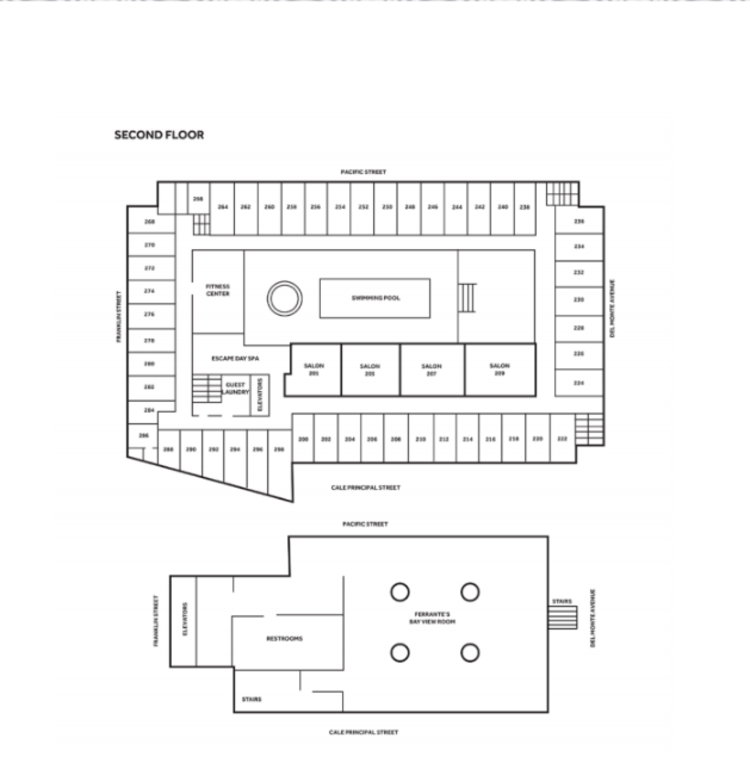 Marriott Floor Plan Level 2