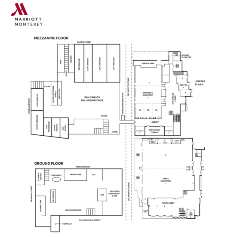 Marriott Floor Plan Level 1